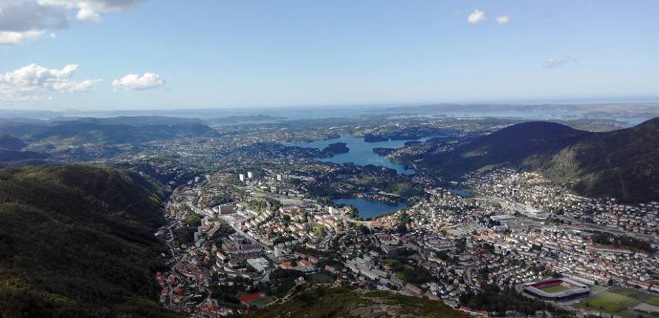 Bergen Norway Mount Ulriken