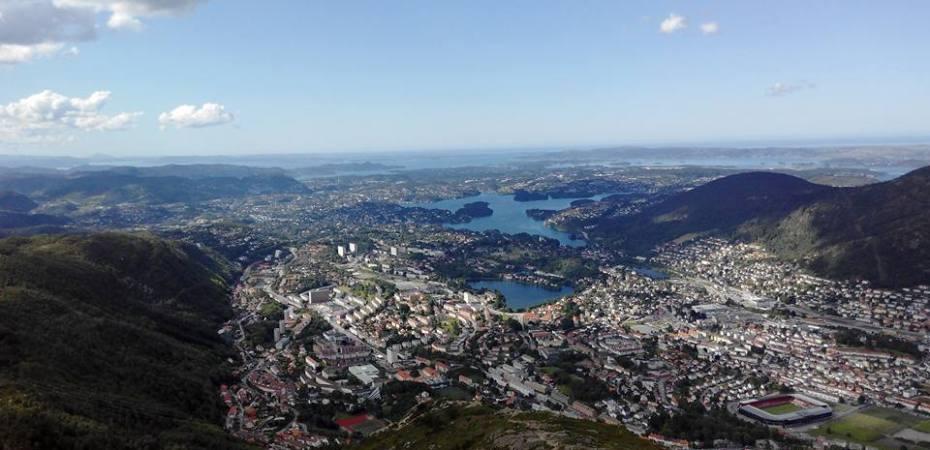 Bergen Norway Mount Ulriken