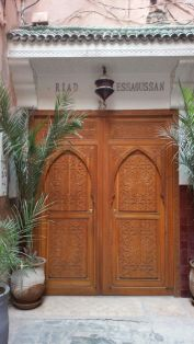 Riad Essaoussan entrance Marrakech