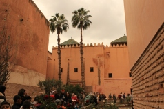 Saadies tombs Marrakesh