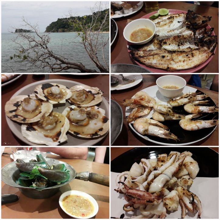 kings´dinner, yummy! Thailand, Koh Chang, fresh fish