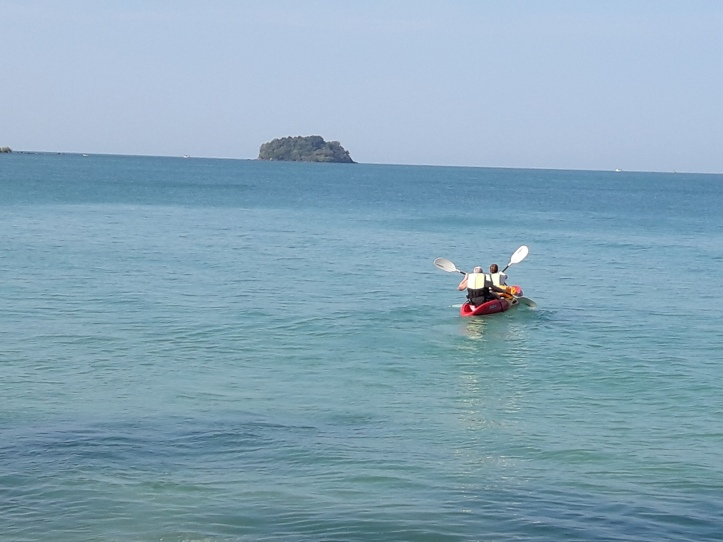 Kayaking in Koh Chang, Thailand