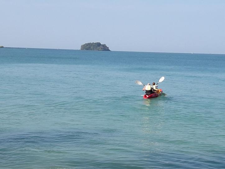 Kayaking in Koh Chang, Thailand