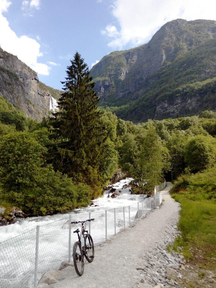 Norway, Solvorn, Lustrafjord