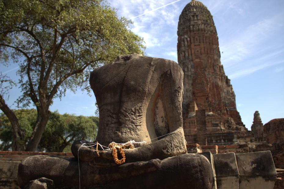 Ayutthaya Historical Park, Thailand