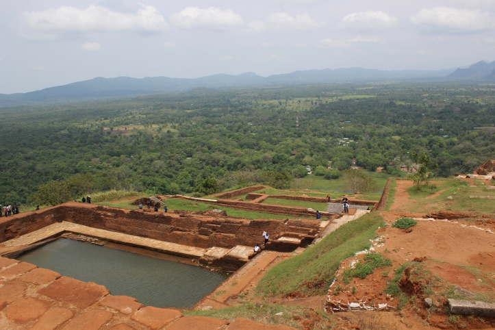 Sigiriya Lion Rock summit