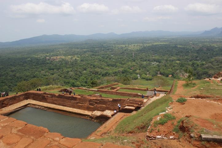 Sigiriya Lion Rock summit Sri Lanka