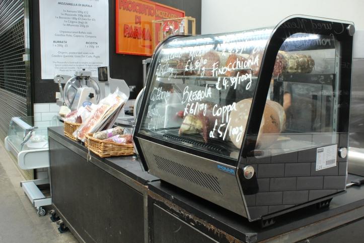 Italian shop Borough Market London