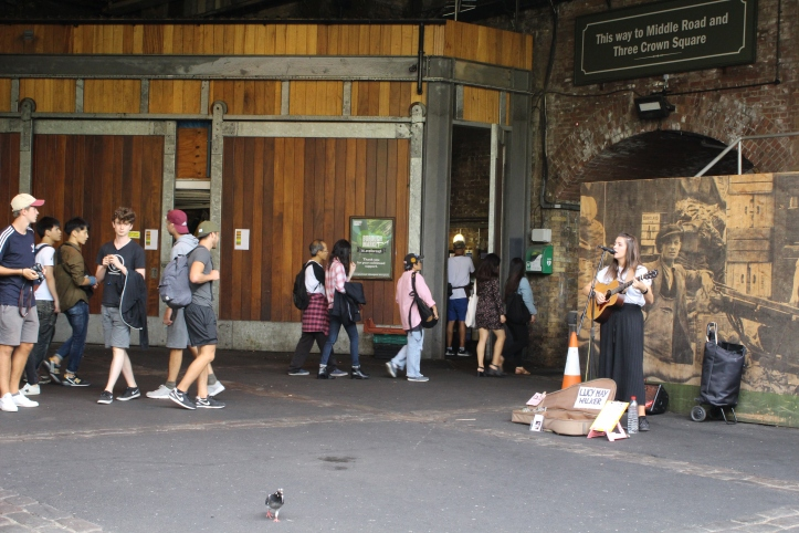 Free entertainment Borough Market london